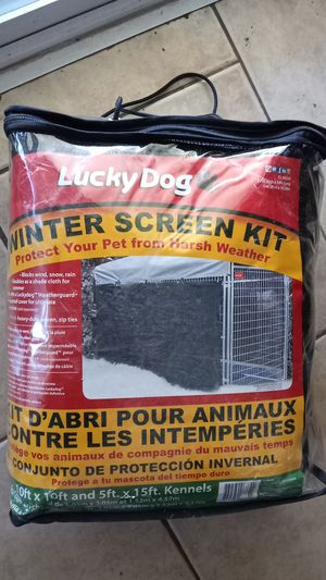 Lucky dog winter screen kit for Sale in Morgan Hill, CA