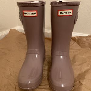 Hunter Original Tour Short Gloss Packable Rain Boot for Sale in SeaTac, WA