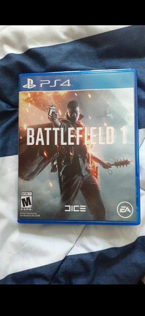 Battlefield 1 ps4 game for Sale in Hayward, CA