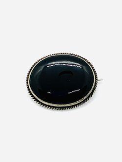 Sterling Silver Black Onyx Brooch for Sale in Duluth,  GA