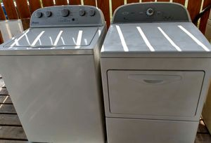 Matching whirlpool electric washer & dryer set for sale both in new working condition... for Sale in CORP CHRISTI, TX