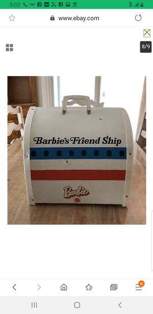 VINTAGE 1971 BARBIE DOLL FRIENDSHIP AIRPLANE UNITES CASE for Sale in Tustin, CA