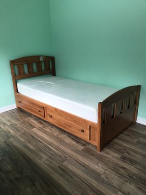 Twin bed frame for Sale in Townsend, MA