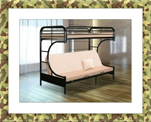 Twin futon bunked frame brand new with free delivery for Sale in Rockville, MD