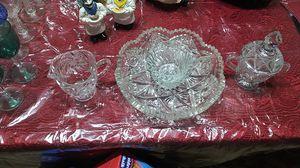 Vintage Cut glass tea set for Sale in Lynnfield, MA