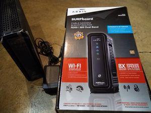 Arris surfboard modem&wifi router for Sale in Portland, OR