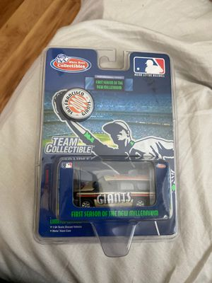 Limited Edition San Francisco Giants Team Collectible Toy Car 2000 for Sale in Manteca, CA