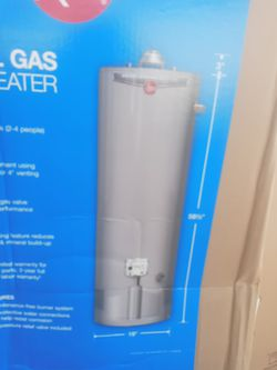 Rheem natural gas water heater for Sale in North Highlands,  CA