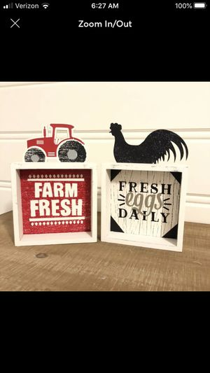 Farmhouse wood signs for Sale in FL, US