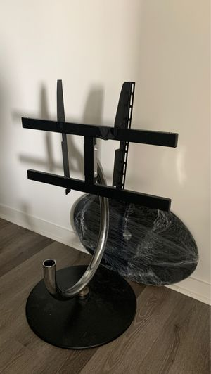 Sleek Black TV mount/stand for Sale in Los Angeles, CA