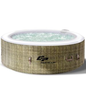 4-6 Person Inflatable Hot Tub Jets Massage Spa for Sale in South El Monte, CA