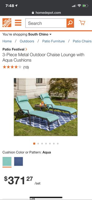 3 piece Lounger patio Set for Sale in Chino, CA