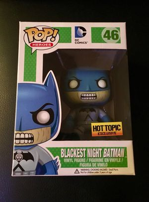 Funko Pop DC Comics Blackest Night Batman Hot Topic Exclusive Action Figure for Sale in Irwin, PA