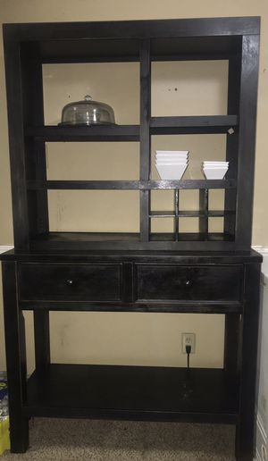 MOVING SALE!! Rustic, 2-piece hutch! for Sale in Plano, TX