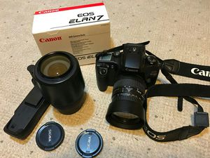 Canon Elan 35mm film camera kit. for Sale in Chicago, IL