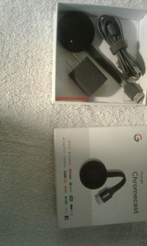 Chrome cast only used once for Sale in Pacific, MO