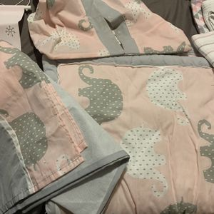 Crib Set, Blankets, Towels, Curtains, Etc for Sale in Humble, TX
