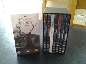Game of Thrones Series seasons 1-7 dvd for Sale in San Diego, CA