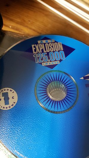 Windows 10 disc art explosion for Sale in Tacoma, WA