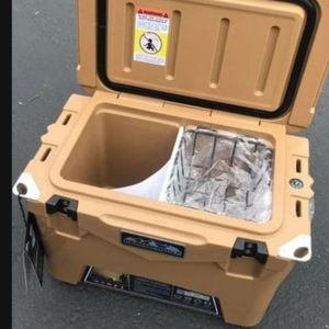 Brand New Roto-molded 20 qt TAN Top of The Line line Ice Chest Cooler & DOZENS more items posted here for Sale in Kirkland, WA