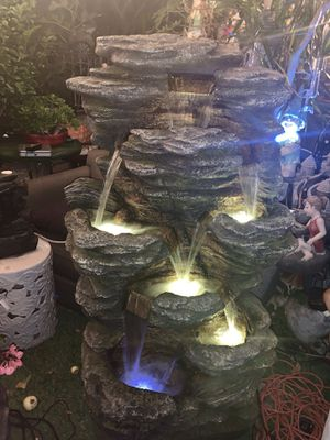 Rock style Fountain with lights for Sale in Cudahy, CA