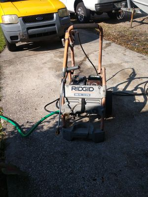 Ridgid pressure washer for Sale in Webster, FL