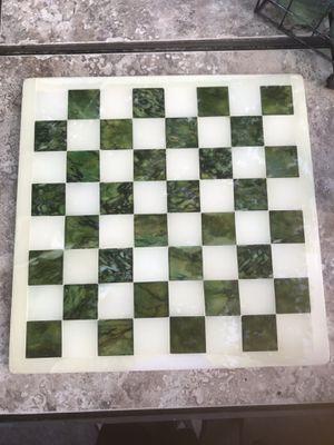 Vintage Aztec marble chess set for Sale in Alexandria, VA