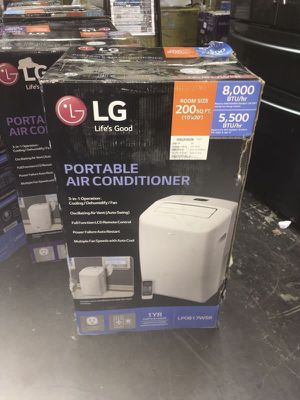 Air Conditioner Portable Aire Acondicionado LG 8,000Btu 200Sq. Ft for Sale in Miami, FL