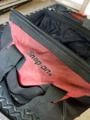 Snap on tool bag with tools for Sale in Seminole, FL