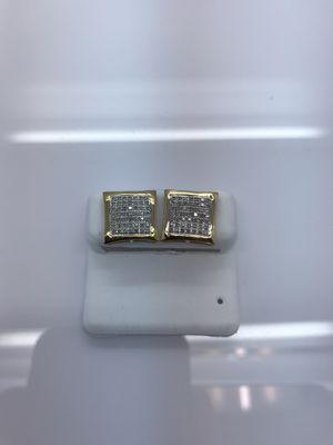 10k gold earrings with 0.30 carat diamond new for Sale in Renton, WA