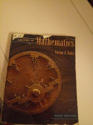 History of Mathemathics:Brief version by Katz Victor for Sale in Wheeling, IL