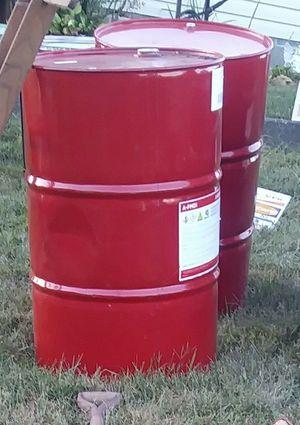 55 gallon Metal Barrels for Sale in Jonesborough, TN