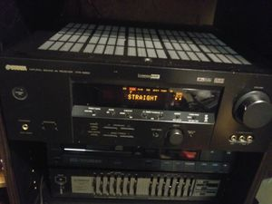 Yamaha HTR-5850 receiver & Pioneer GR-560 graphic equalizer for Sale in Everett, WA