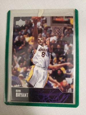 Kobe Bryant Upper deck card for Sale in Gilbert, AZ