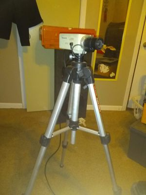 Digital camera on tripod for Sale in Tulsa, OK