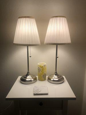 2 ÅRSTID Lamps from IKEA for Sale in Walnut Creek, CA