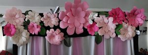 """""""Pretty in Pink"""" Backdrop for photos or Cake display table etc. for Sale in Anaheim, CA"""