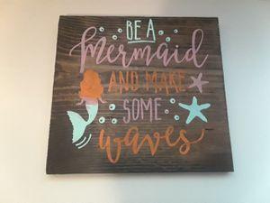 Mermaid wall decor for Sale in Mesa, AZ