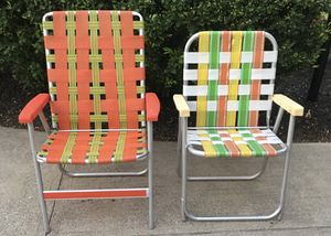 Vintage Folding Chairs for Sale in Seven Hills, OH