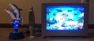 Dolphin Illumination Lamp, Lava Lamp, and Artificial Aquarium for Sale in Glassboro, NJ
