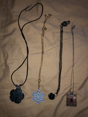 Flower vintage necklaces for Sale in Stockton, CA