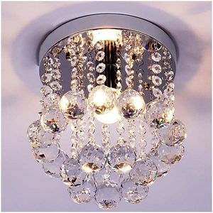 Crystal Chandelier With Dangling Crystal Balls Ceiling Mount For Kitchen Entryway Bedroom Bathroom Closet for Sale in Hemet, CA
