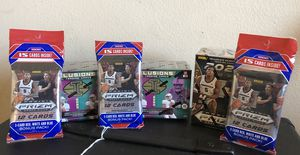 2020 PRIZM Basketball and ILLUSIONS Football cards for Sale in Murrieta, CA