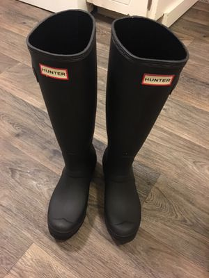Like new hunter boots! Size 6 for Sale in Portland, OR