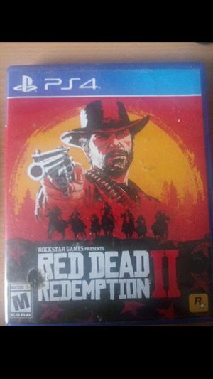 Red dead redemption 2 ps4 for Sale in Lawrenceville, GA