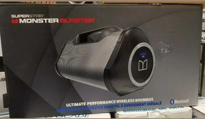 "SPEAKER ""NEW "" MONSTER BLASTER for Sale in Schaumburg, IL"