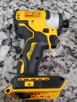 DEWALT ATOMIC 20-Volt MAX Cordless Brushless Compact 1/4 in. Impact Driver (Tool-Only) for Sale in Irving,  TX