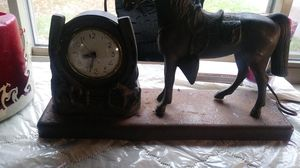 Antique horse clock works great for Sale in Akron, OH