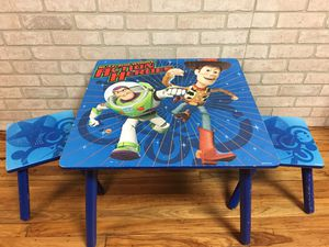 Kids toy story table set for Sale in Detroit, MI