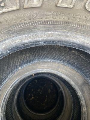 Tires 35x12.50R15LT for Sale in Laurel, MD